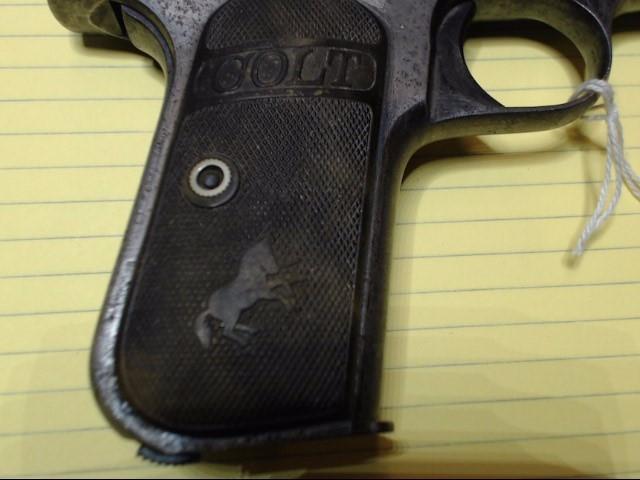 COLT Pistol MODEL 1908 HAMMERLESS .380 POCKET PISTOL