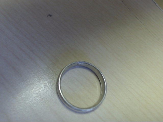 Gent's Silver Wedding Band 925 Silver 5.4g Size:12