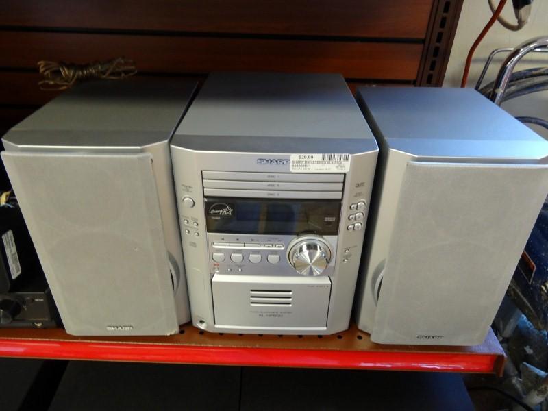 SHARP Mini-Stereo XL-HP500