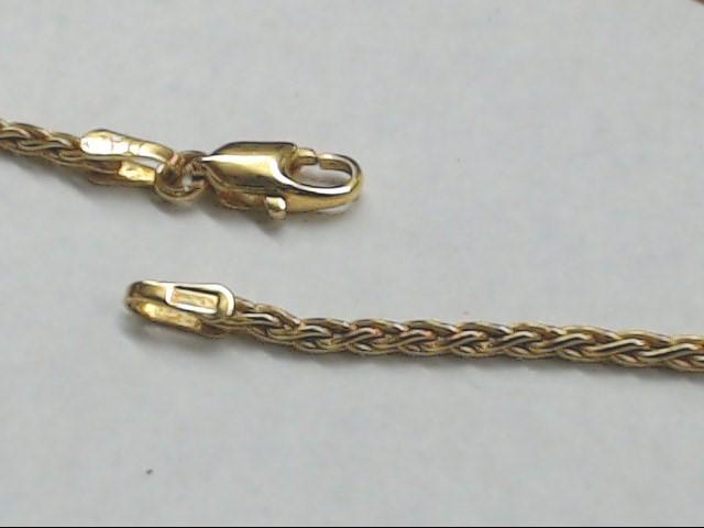 "18"" Gold Chain 14K Yellow Gold 6.4g"