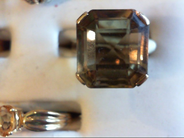 Lady's Gold Ring 18K Yellow Gold 7g