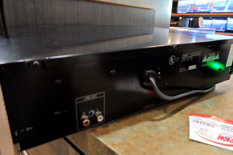 SONY CD Player & Recorder CDP-C50