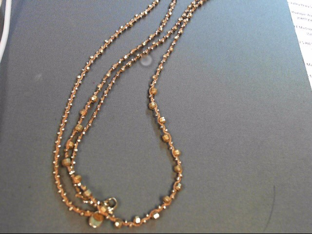 CHAN LU NECKLACE GOLD TONE