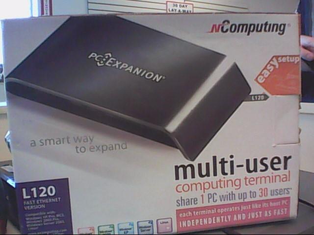 NCOMPUTING Networking & Communication PC EXPANSION L120