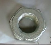 DRAG SPECIALTIES DS-222973, #7986; REAR AXLE NUT BT/XL CHRM **SOLD PER 1 EACH**