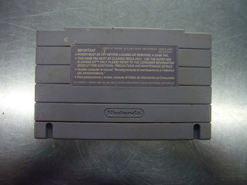SNES Game ALADDIN *CARTRIDGE ONLY*
