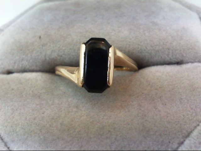 Lady's Gold Ring 14K Yellow Gold 2.7g