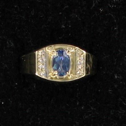 Lady's Gold Ring 10K Yellow Gold 2.5dwt
