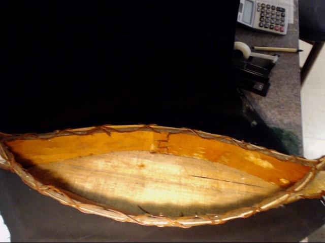 25 INCH IROQUOIS BIRTCH MINITURE CANOE