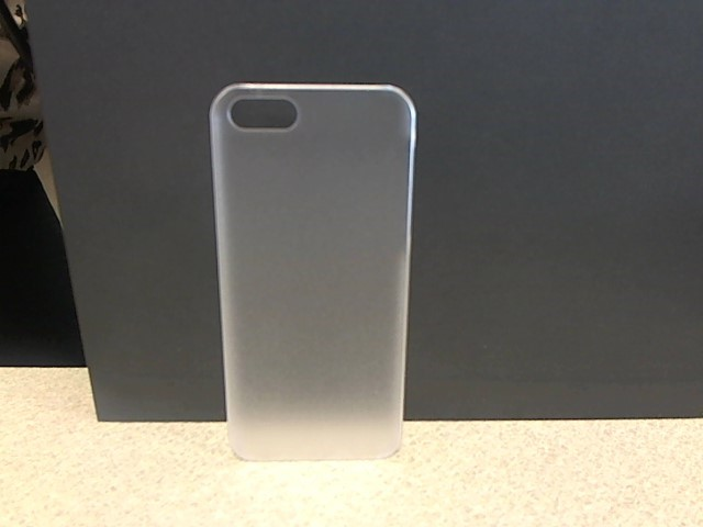 TRANSLUCENT SOLID COLOR CASE Cell Phone Accessory IPHONE 5 & 5S IPO-9002-WH