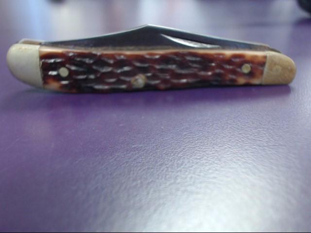 KA-BAR POCKET KNIFE 2 FOLDING BLADES