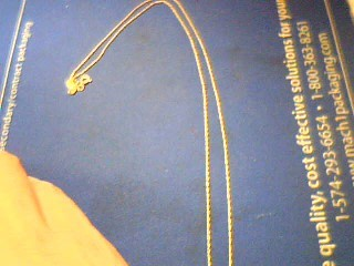 "19.5"" Gold Fine Chain 10K Yellow Gold 0.3g"
