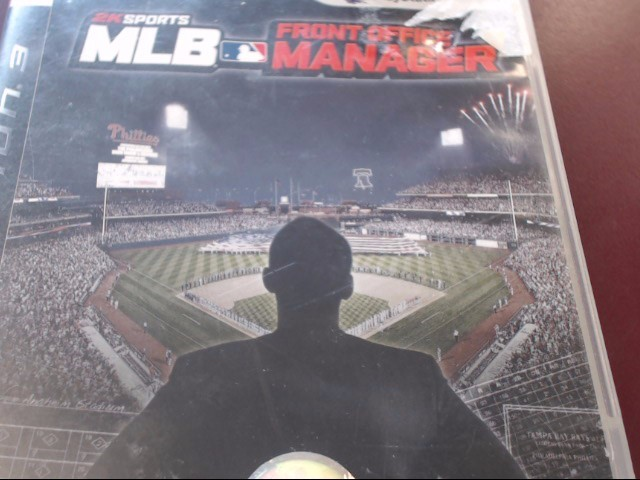 SONY PS3 MLB FRONT OFFICE MANAGER