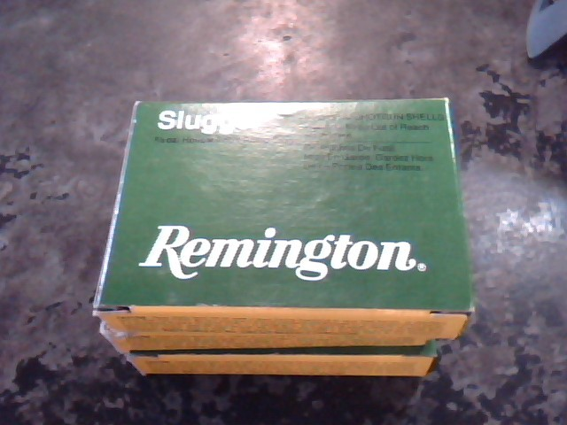 REMINGTON FIREARMS Ammunition SLUGGER 20 GA