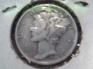 UNITED STATES Silver Coin 1945 - LIBERTY DIME