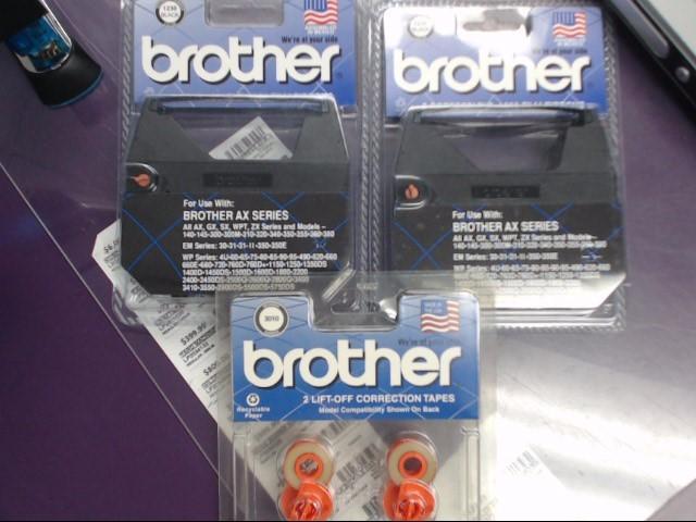 BROTHER CORRECTABLE TYPEWRITER RIBBONS