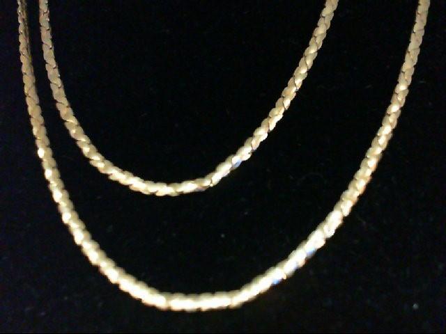 "30"" Gold Chain 14K Yellow Gold 5.2g"