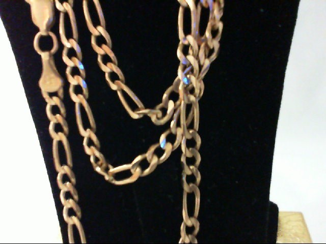 Gold Figaro Chain 10K Yellow Gold 14.9g
