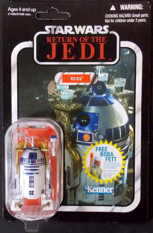 STAR WARS RETURN OF THE JEDI, R2-D2, VC25