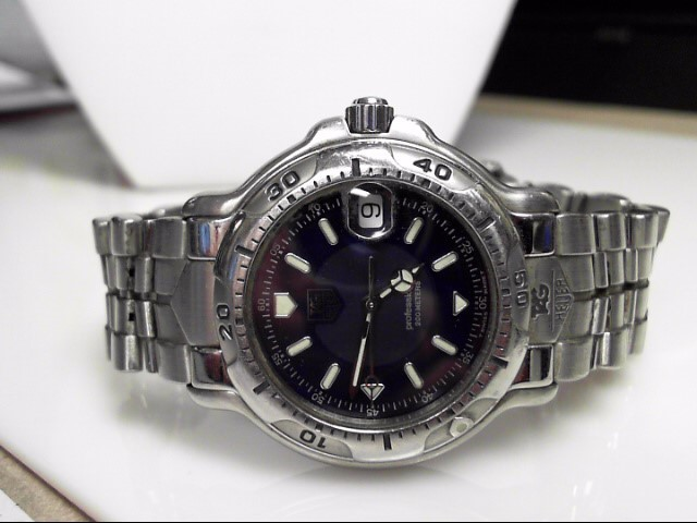 TAG HEUER STAINLESS STEEL 600 PROFESSIONAL QUARTZ WH1115-K1 WATCH