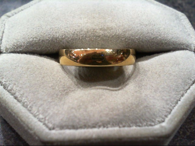 Gent's Gold Wedding Band 14K Yellow Gold 2.1g Size:9