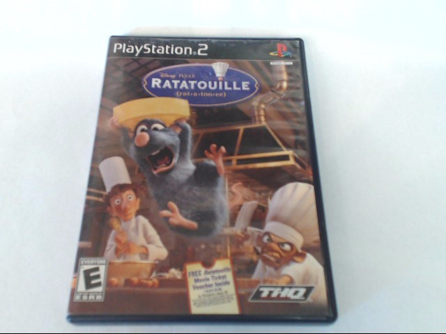 RATATOUILLE SONY PLAYSTATION 2 GAME