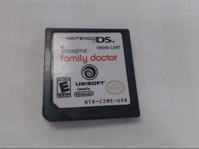 NINTENDO DS IMAGINE: FAMILY DOCTOR