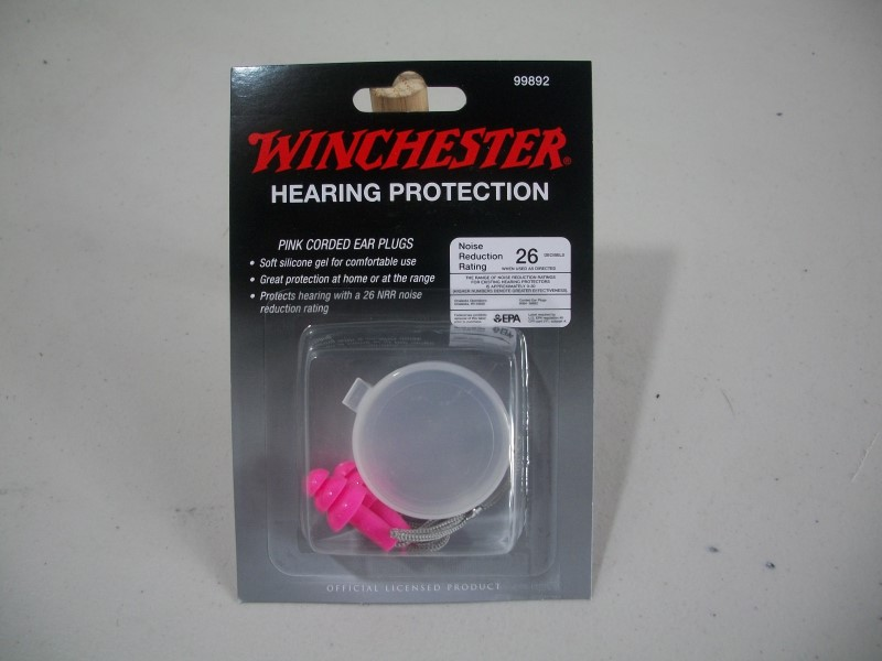 WINCHESTER Accessories 26DB PINK CORDED EARPLUGS W/CASE