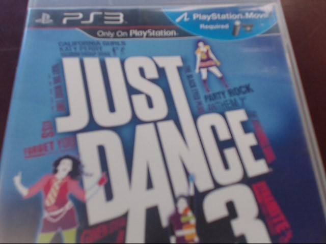 SONY PS3 JUST DANCE 3
