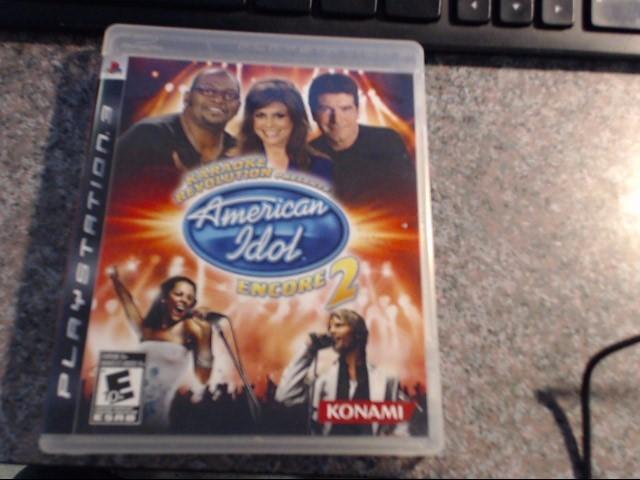 SONY Sony PlayStation 3 AMERICAN IDOL ENCORE 2