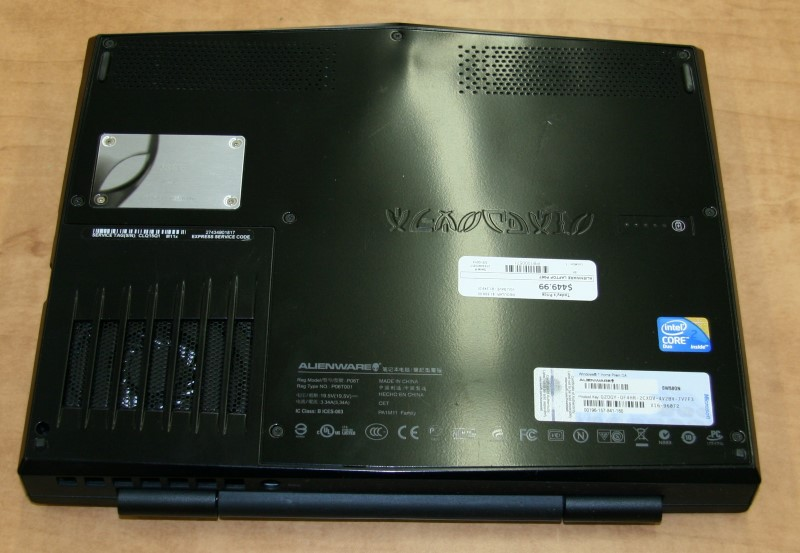ALIENWARE PC Laptop/Netbook P06T