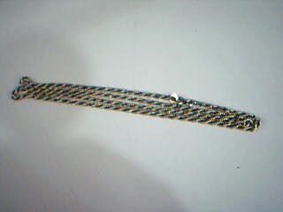 """18"""" Gold Rope Chain 14K Yellow Gold 5.6g"""