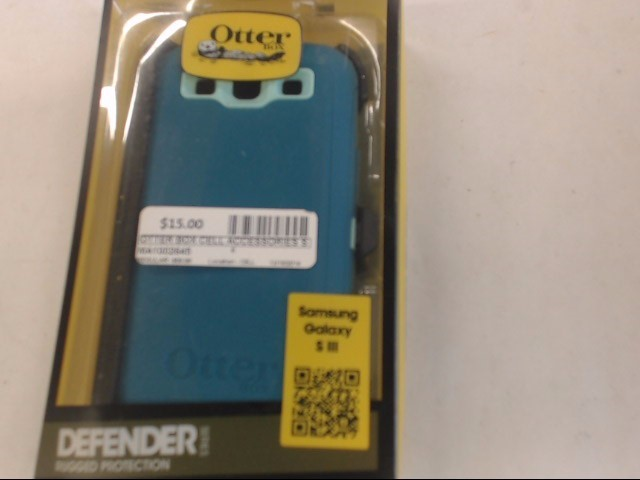 OTTER BOX Cell Phone Accessory SAMSUNG GALAXY S3 DEFENDER SERIES