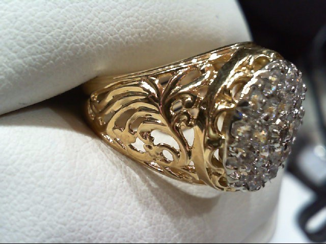 Gent's Gold Ring 10K Yellow Gold 7.6g