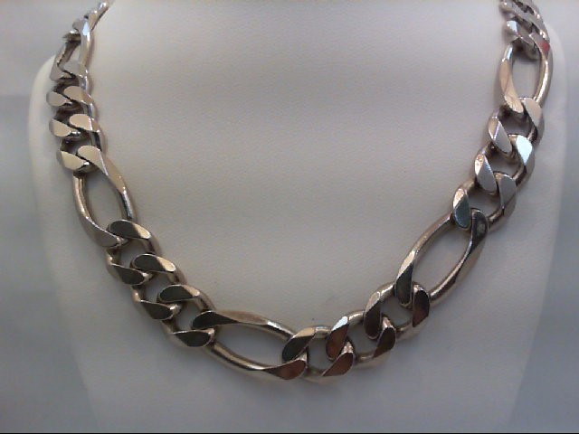 """20"""" Necklace/Pendant Silver Stainless 91g"""