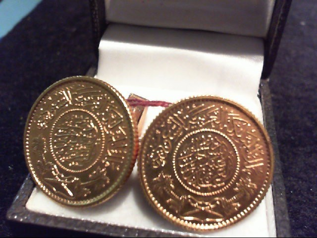 GOLD_COIN CUFF_LINKS COIN