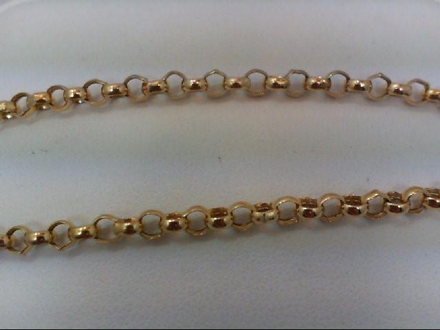 Gold Bracelet 10K Yellow Gold 1.9g