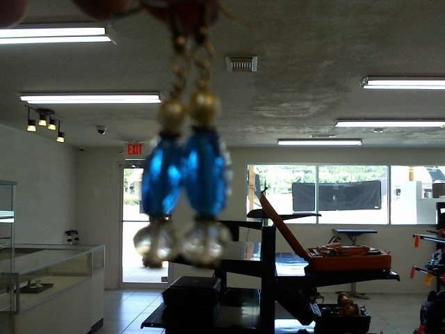 Antique Blue Stone Silver-Stone Earrings 925 Silver 5.1dwt