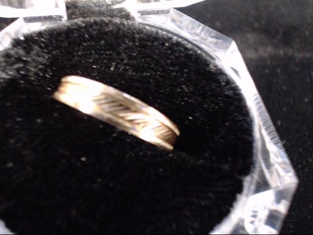 Lady's Gold Wedding Band 14K Yellow Gold 2g Size:6