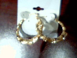 Gold Earrings 10K Yellow Gold 3.1g