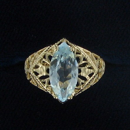 Lady's Gold Ring 14K Yellow Gold 2.8dwt