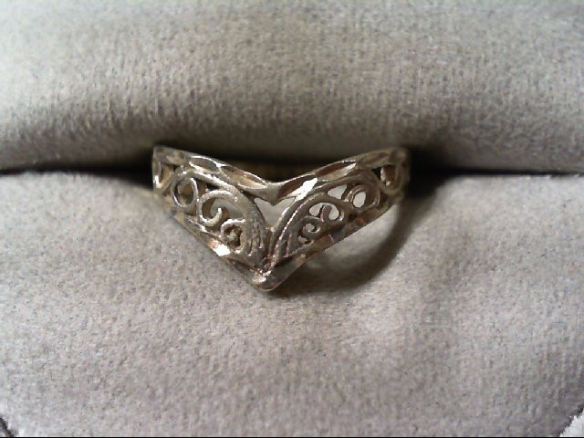 Lady's Silver Ring 925 Silver 1.6g