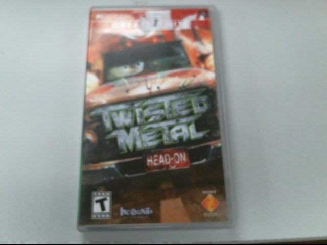 SONY Sony PSP Game PSP TWISTED METAL HEAD ON