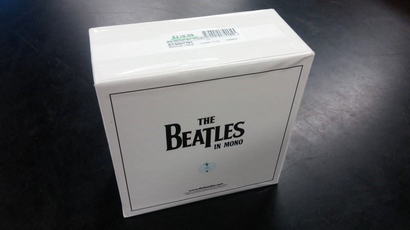 CD MUSIC BY TITLE CD THE BEATLES COMPACT DISC EP COLLECTION
