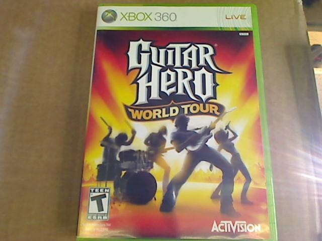 XBOX 360 - GUITAR HERO WORLD TOUR