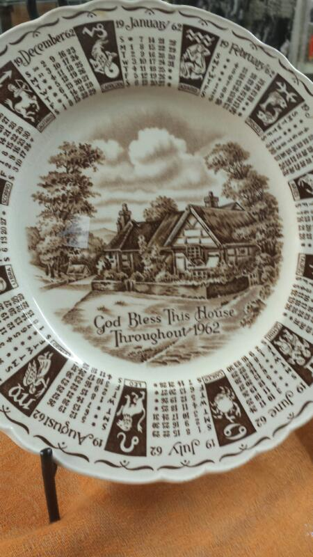 COLLECTOR PLATES COLLECTIBLES MISC USED MERCH MISC USED MERCH; GOD BLESS PLATE,