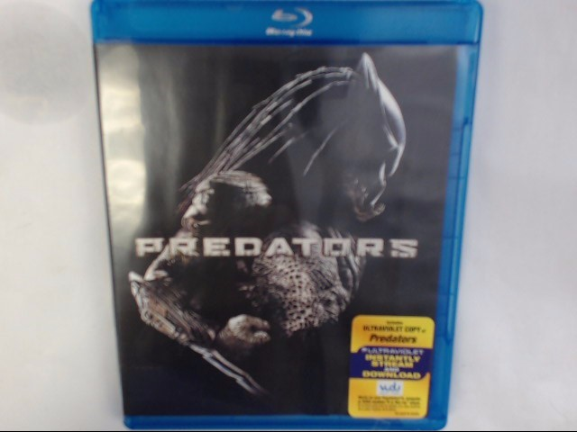 BLU-RAY MOVIE PREDATORS