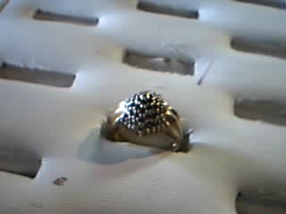 Lady's Diamond Fashion Ring 50 Diamonds .50 Carat T.W. 14K Yellow Gold 4g