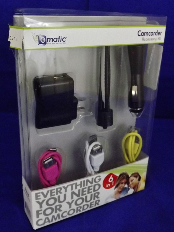 EMATIC CAMCORDER ACCESSORY KIT