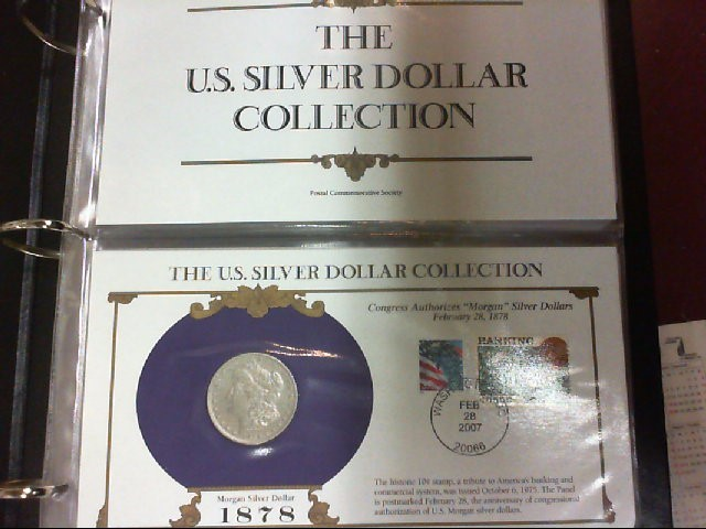 THE US SILVER DOLLAR COLLECTION